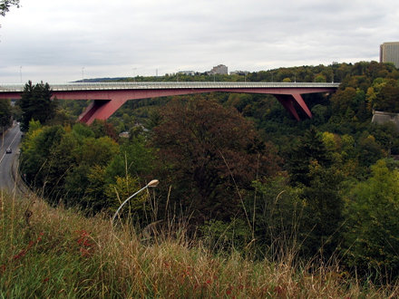 photo gallery of grand duchess charlotte bridge in