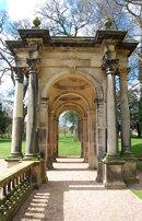Trentham Italian Gardens: loggia