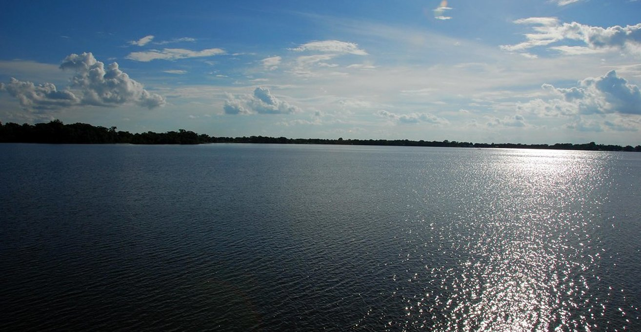 パイヌール湖 Jefferson Island中