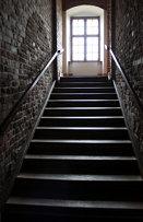 Golub-Dobrzyń castle, horse stairs