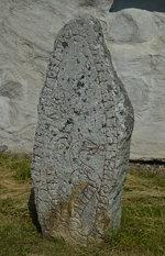 Runestone in the Churchyard of Orkesta