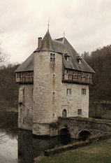 castle of crupet, belgium