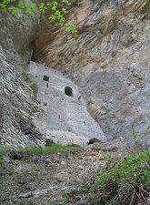 cave castle Rappenstein