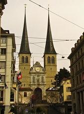 Hofkirche (St. Leodegar im Hof)