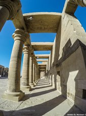 Pillars from Philae Temple
