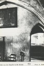 Zakrystia kościoła mariackiego w Świdwinie Schivelbein Pommern