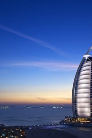 Burj Arab Hotel in Dubai, november 2011
