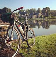 Adventure bike at Newstead