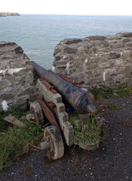 Old Slains Castle Cannon