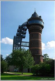 Alter Wasserturm Aquarius - Wasser-Museum in Mülheim an der Ruhr
