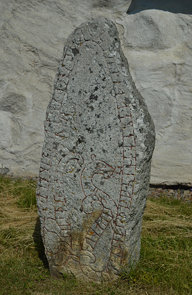 Runestone in the Churchyard of Orkesta