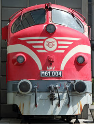 NOHAB M61 Diesel Locomotive