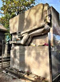 Paris. Pere Lachaise graveyard