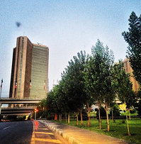 #iran #tehran !!! No #ufo in the #sky #early in the #morning . Just #roaming !!!