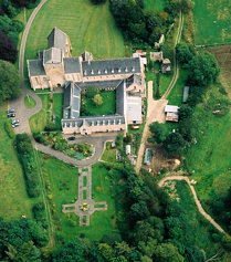 Pluscarden Abbey - Aerial