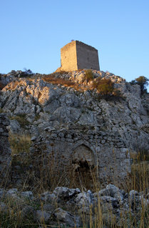 Frankish Tower, Ακροκόρινθος (Acrocorinth), Greece