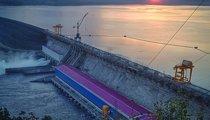 Boguchany hydroelectric power station