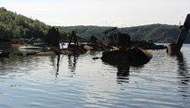 Кладбище подводных лодок (Бухта Незаметная)