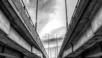 M4 motorway Usk bridge