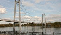 Вантовый пешеходный мост (Красноярск)