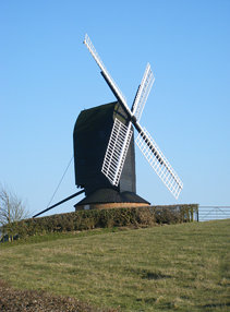 Post mill at Rolvenden, Kent