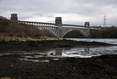 Britannia Bridge, Menai Straits