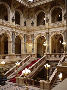 Inside of the National Museum, Prague