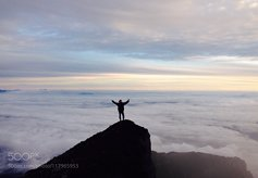 Mount Kerinci, Jambi province, Sumatra, Indonesia