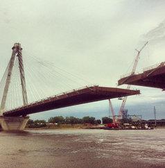 The new I-70 bridge is almost complete