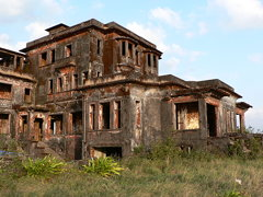 The old casino at Bokor