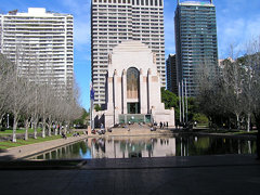Sydney (24) - ANZAC War Memorial, Hyde Park