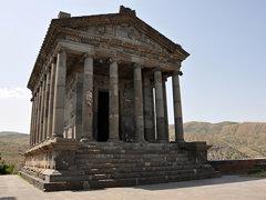 Temple in Garni (Armenia)