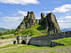 Крепостта и част от скалите в Белоградчик