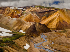 Iceland: Landmannalaugar  ... and one Valley further, a Sandbox for the Gods :-)))