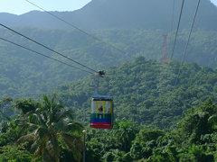 Lanovka na vrch Pico Isabel de Torres, San Felipe de Puerto Plata