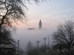 Štramberská Trúba #fog #tower