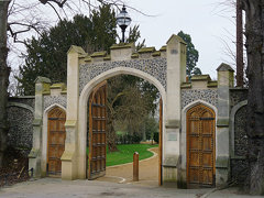 March 11th, 2010: Entrance to Caversham Court Gardens