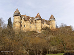 18 Culan - Château XII XV XVII