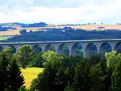 A72 Talbrücke Elstertalbrücke bei Pirk  Juli 2015_023
