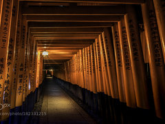 Mindnight at Fushimi Inari: