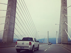 #goldenears #bridge #cablestayed #metrovancouver #highway
