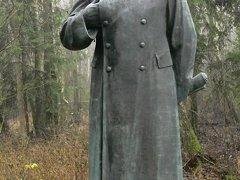 Grutas park and museum - Stalin sculpture, Druskininkai district