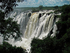 INGA FALLS, CONGO #Worldwaterfalls