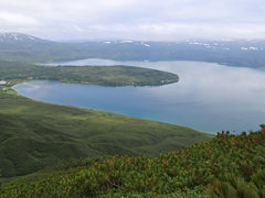 Overview Kuril'skoye Lake