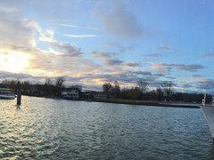 Actual impression from bieler lake, switzerland
