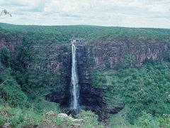 Lofoi Wasserfall