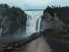 Montmorency falls, Canada