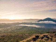Sunrise in Batur, HDR Version