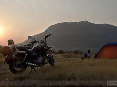किल्ले चावंड व किल्ले जीवधन आणि नाणेघाट पठारावरचा कुडकुडवणारा मुक्काम. Camping at Naneghat