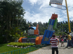 La Cuidad Transformer at Parque Diversiones